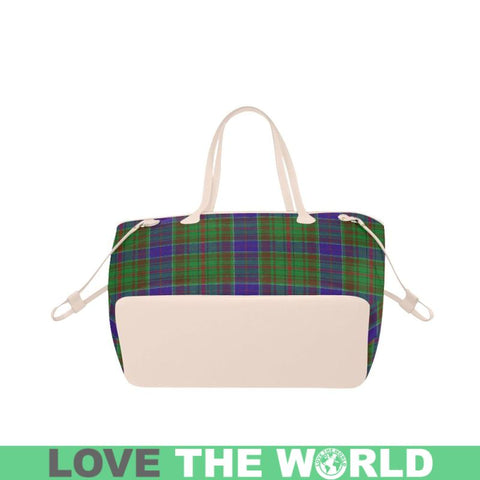 Adam Tartan Clover Canvas Tote Bag S1 Bags