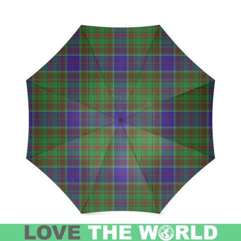 Adam Tartan Foldable Umbrella Th8 |Accessories| 1sttheworld