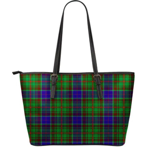 Adam Tartan Large Leather Tote Bag Nl25 Totes