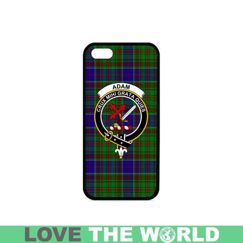Adam Tartan Rubber Phone Case Na2 One Size / Rubber Case For Iphone 7 Plus (5.5) Cases