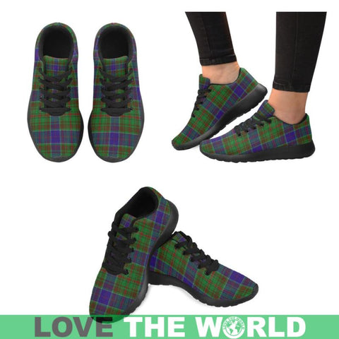 Adam Tartan Running Shoes Hj4 Us6 / Adam Black Womens Running Shoes (Model 020)