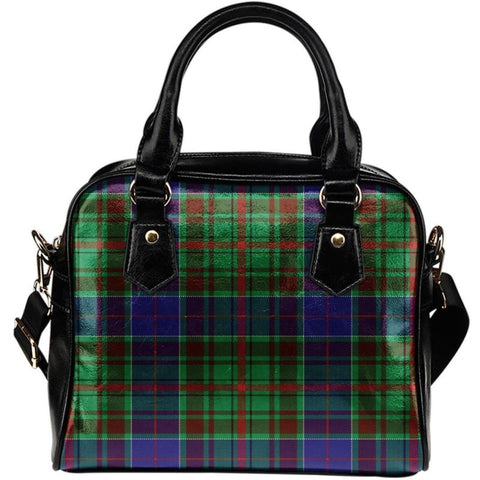 Tartan Shoulder Handbag - Adam