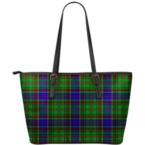 Adam Tartan Small Leather Tote Bag Nl25 Totes