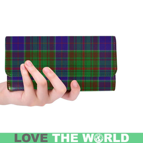 Adam Tartan Trifold Wallet V4 One Size / Adam Black Womens Trifold Wallet Wallets