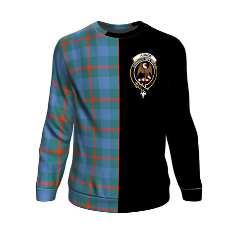 Image of Agnew Ancient Tartan Sweatshirt - Half Style | 1sttheworld.com