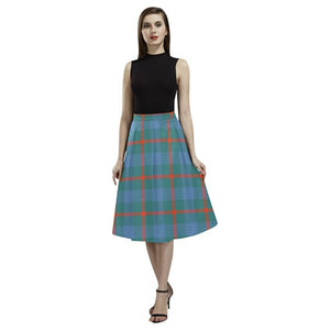 Agnew Ancient Tartan Aoede Crepe Skirt S12 Skirts