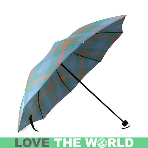 Agnew Ancient Tartan Foldable Umbrella Th8 |Accessories| 1sttheworld