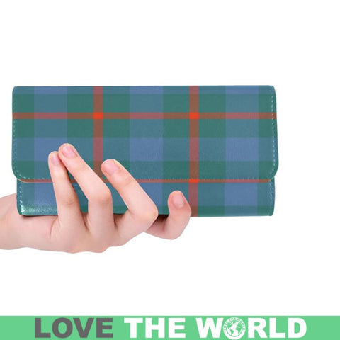 Agnew Ancient Tartan Trifold Wallet V4 One Size / Agnew Ancient Red Womens Trifold Wallet Wallets