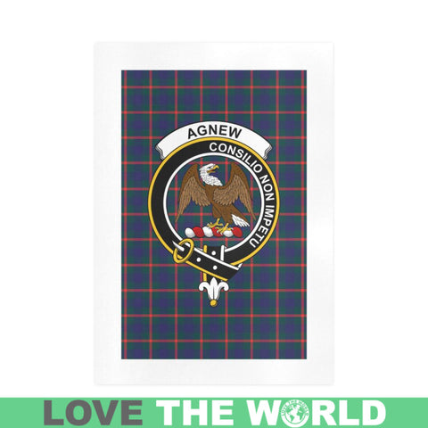 Image of Agnew Clan Tartan Art Print F1 One Size / 19í_í‡X28í_í‡ Prints