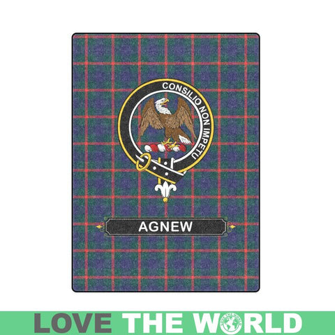 Image of Agnew Clan Tartan Blanket Dn1 One Size / 40X50 Blankets