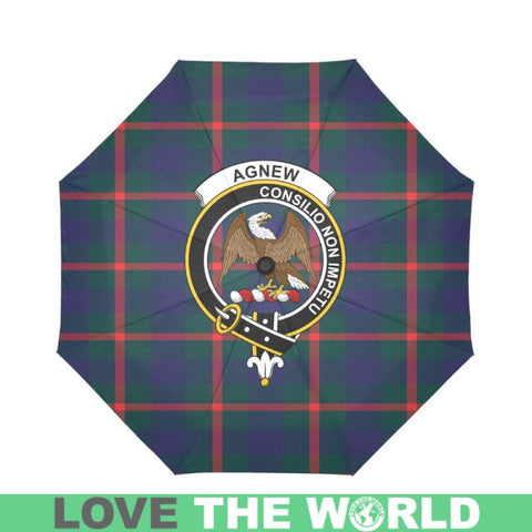 Agnew Modern TARTAN CLAN BADGE AUTO-FOLDABLE UMBRELLA R1