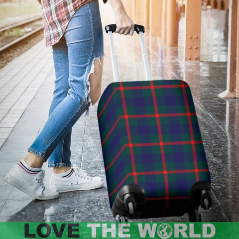 Agnew Modern Tartan Luggage Cover Hj4 Covers