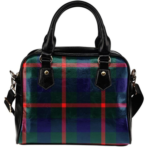 Agnew Modern Tartan Shoulder Handbag - Bn Handbags