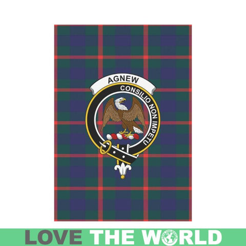 Agnew Tartan Flag Clan Badge K7