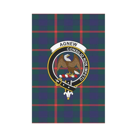 Agnew Tartan Flag Clan Badge
