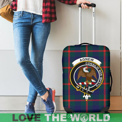 Agnew Tartan Clan Badge Luggage Cover Hj4 Covers