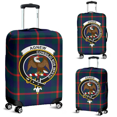 Agnew Tartan Clan Badge Luggage Cover