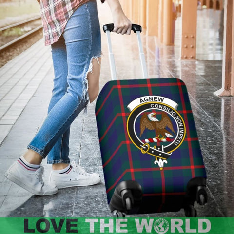 Agnew Plaid Luggage Cover