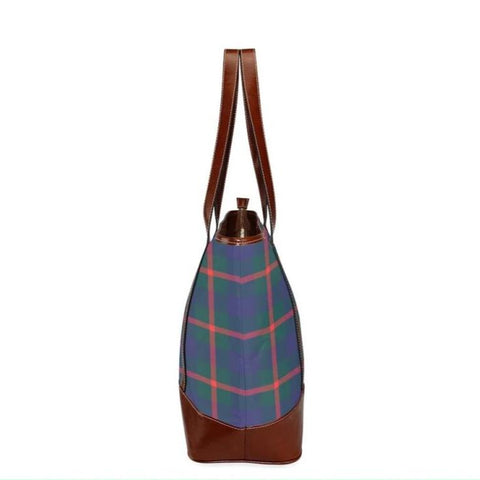 Agnew Tartan Clan Badge Tote Handbag Hj4 Handbags