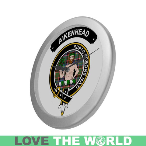 Aikenhead Clan Tartan Wall Clock  - Love The World