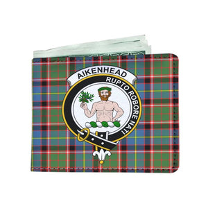 Aikenhead Clan Tartan Men Wallet Y3 Wallets