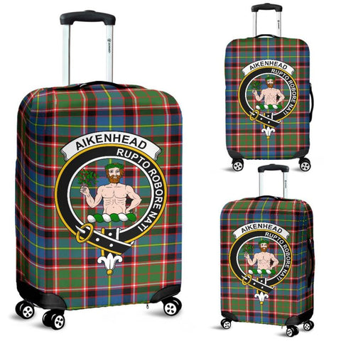 Aikenhead Tartan Clan Badge Luggage Cover