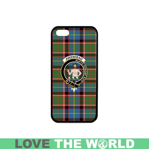 Image of Aikenhead Tartan Clan Badge Phone Case Na2 One Size / Aikenhead Na2 1 Rubber Case For Iphone 7 Plus