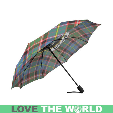 Aikenhead TARTAN CLAN BADGE AUTO-FOLDABLE UMBRELLA R1