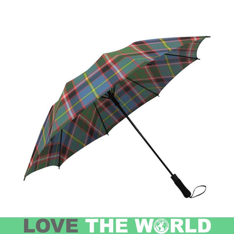 Aikenhead Tartan Clan Badge Semi-Automatic Foldable Umbrella R1 Semi Umbrellas