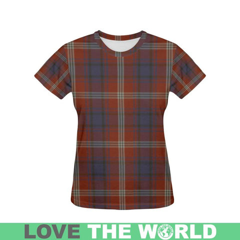 Tartan T-shirt - Ainslie| Tartan Clothing | Over 500 Tartans and 300 Clans