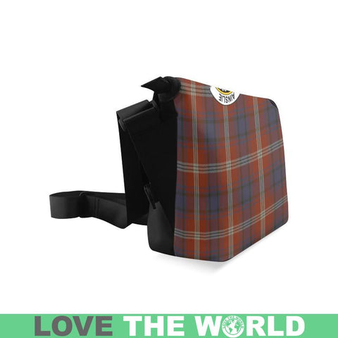 Image of Ainslie Tartan Clan Badge Crossbody Bag C20 Bags