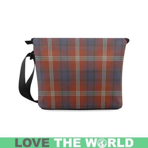 Ainslie Tartan Clan Badge Crossbody Bag C20 Bags