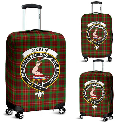 Image of Ainslie Tartan Clan Badge Luggage Cover