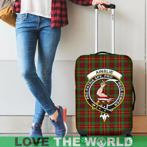 Ainslie Tartan Clan Badge Luggage Cover Hj4 Covers
