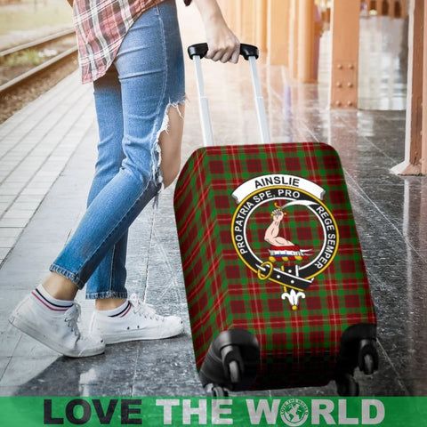 Image of Ainslie Plaid Luggage Cover