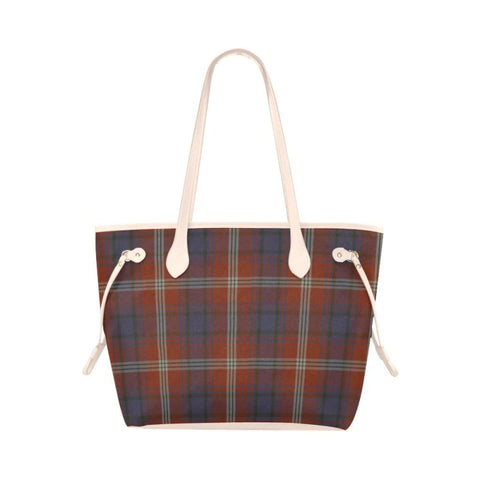 Image of Ainslie Tartan Clover Canvas Tote Bag S1 Bags