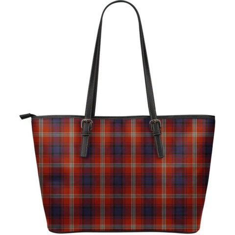 Ainslie Tartan Large Leather Tote Bag Nl25 Totes