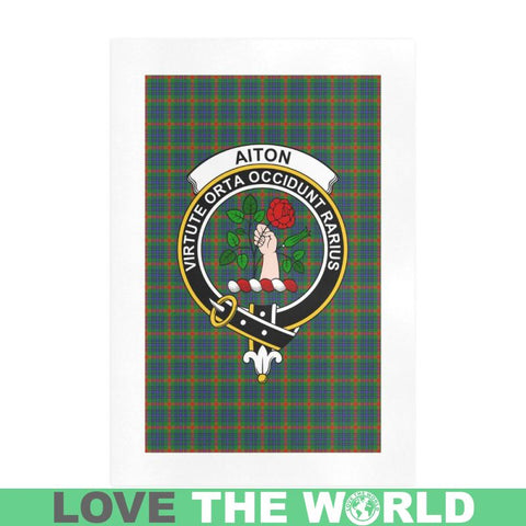Image of Aiton Clan Tartan Art Print F1 One Size / 16í_í‡X23í_í‡ Prints
