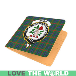 AITON CLAN TARTAN MEN WALLET A3