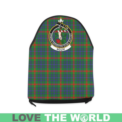 Image of Aiton Tartan Clan Badge Crossbody Bag C20 Bags