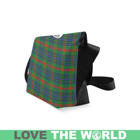 Aiton Tartan Clan Badge Crossbody Bag C20 Bags