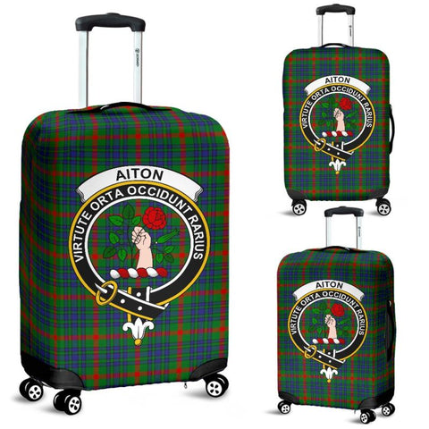 Aiton Tartan Clan Badge Luggage Cover Hj4 Covers