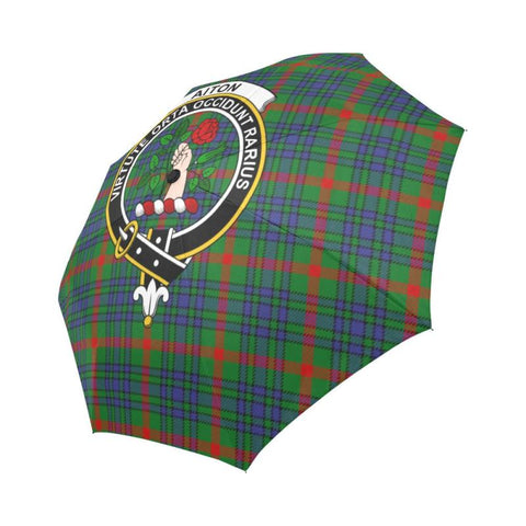 Aiton TARTAN CLAN BADGE AUTO-FOLDABLE UMBRELLA R1