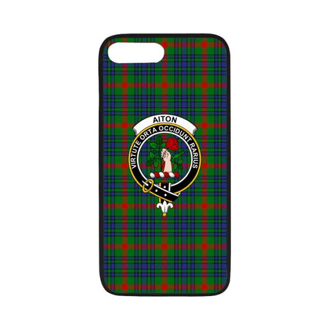 Image of Aiton Tartan Clan Badge Rubber Phone Case Hj4 Cases