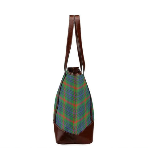 Aiton Tartan Clan Badge Tote Handbag Hj4 Handbags