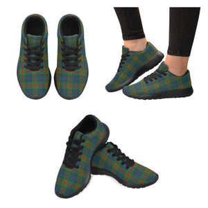 Aiton Tartan Running Shoes Hj4 Us6 / Aiton Black Womens Running Shoes (Model 020)