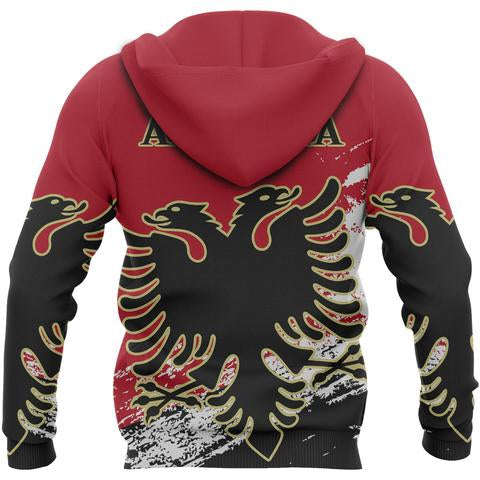 Albania Special Zipper Hoodie | Women & Men | High Quality Printing