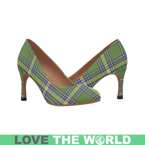 Alberta Tartan Women's Heels Th8 |Footwear| 1sttheworld