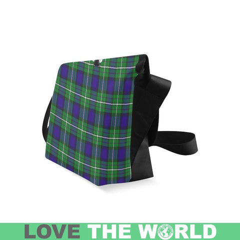 Alexander Tartan Clan Badge Crossbody Bag Ha8 Bags