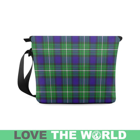 Image of Alexander Tartan Clan Badge Crossbody Bag Ha8 Bags
